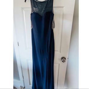 Classic Navy Sleek Dress